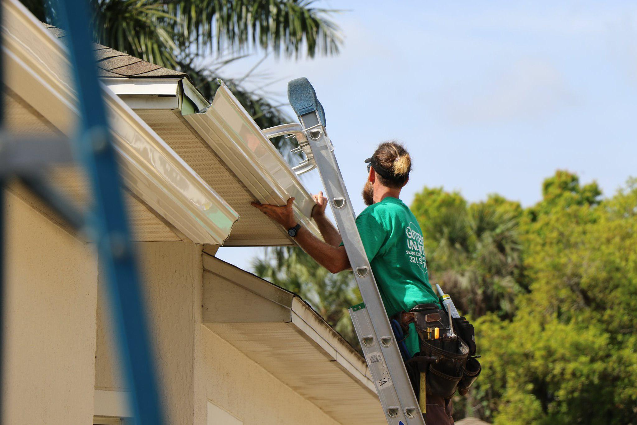 gutter cleaning Viera